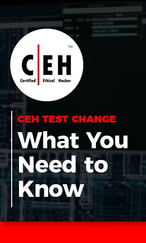 Live Online Sample Class: CEH Test Change - What You Need to Know 11-14-18