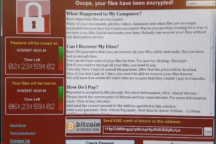 Ransomware Attack at NHS